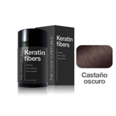 THECOSMETICREPUBLIC KERATIN FIBERS Fibras capilares color castaño oscuro 12,5 g