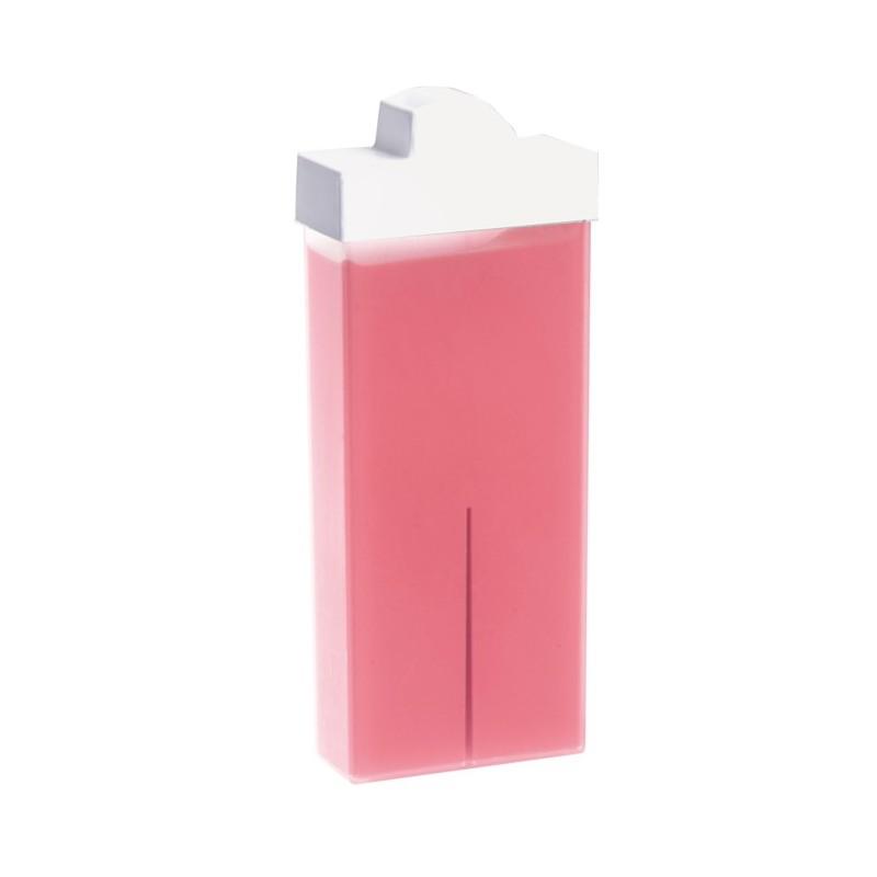 POLLIÉ Cartucho de cera roll-on facial rosa 100 ml