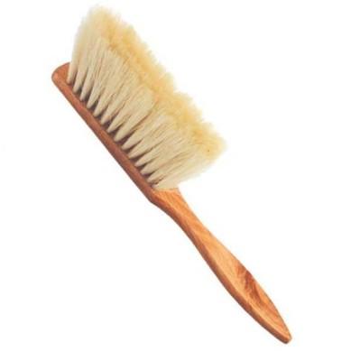 Cepillo barbero madera y nilon