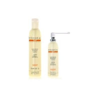 PACK HC HAIRCONCEPT BIOLOGICAL ENERGIA Y CRECIMIENTO champu 250ml + esencia 125ml