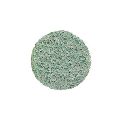 Esponja celulosa desmaquilladora azul