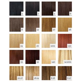 SANGRÁ Extensiones cabello 100% natural remy con clip Nº 8-26 (3 pcs)