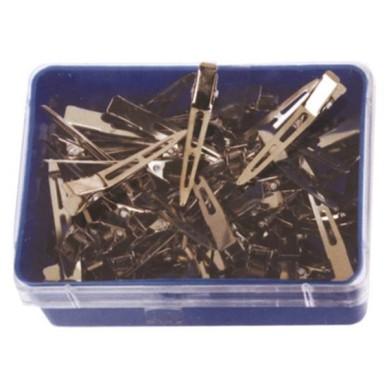 Pinzas acero granel corta (100 unid)