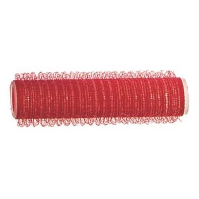 Rulo de velcro 13 mm rojo (12 pcs)