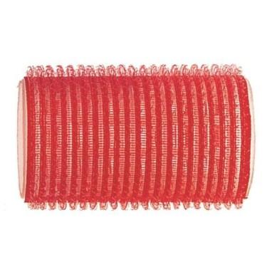 Rulo de velcro 34 mm rojo (12 pcs)