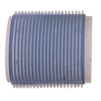 Rulo de velcro 56 mm azul (6 pcs)