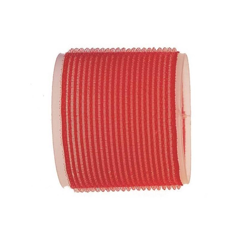 Rulo de velcro 70 mm rojo (6 pcs)