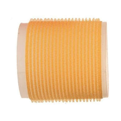 Rulo de velcro 66 mm amarillo (6 pcs)