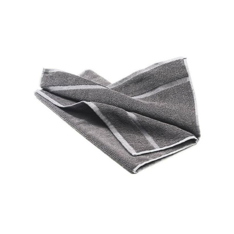 Toalla rizo CAMPEON de peluqueria gris