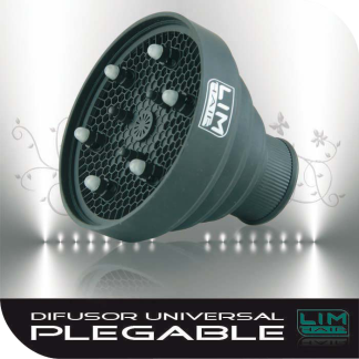 LIM HAIR Difusor universal plegable original negro