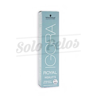 SCHWARZKOPF TINTE IGORA ROYAL HIGHLIFTS 10-46 RUBIO PLATINO BEIGE CHOCOLATE
