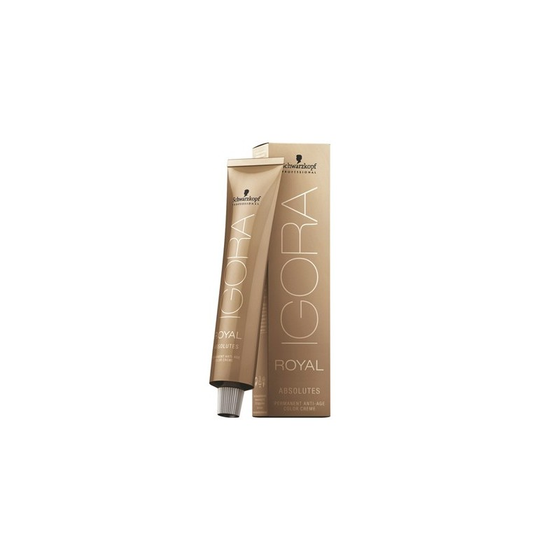 SCHWARZKOPF IGORA ROYAL ABSOLUTES 7-40 RUBIO MEDIO BEIGE NATURAL