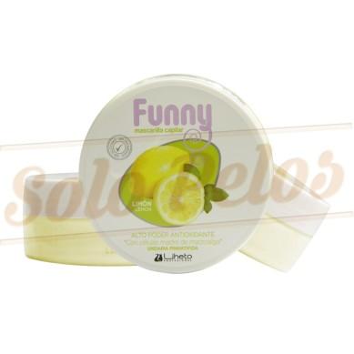 LIHETO Mascarilla funny Limón 200 ml