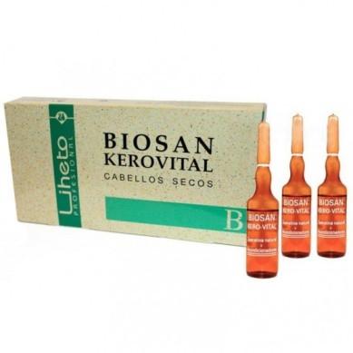 LIHETO Ampollas biosan kerovital (8 x 10 ml)