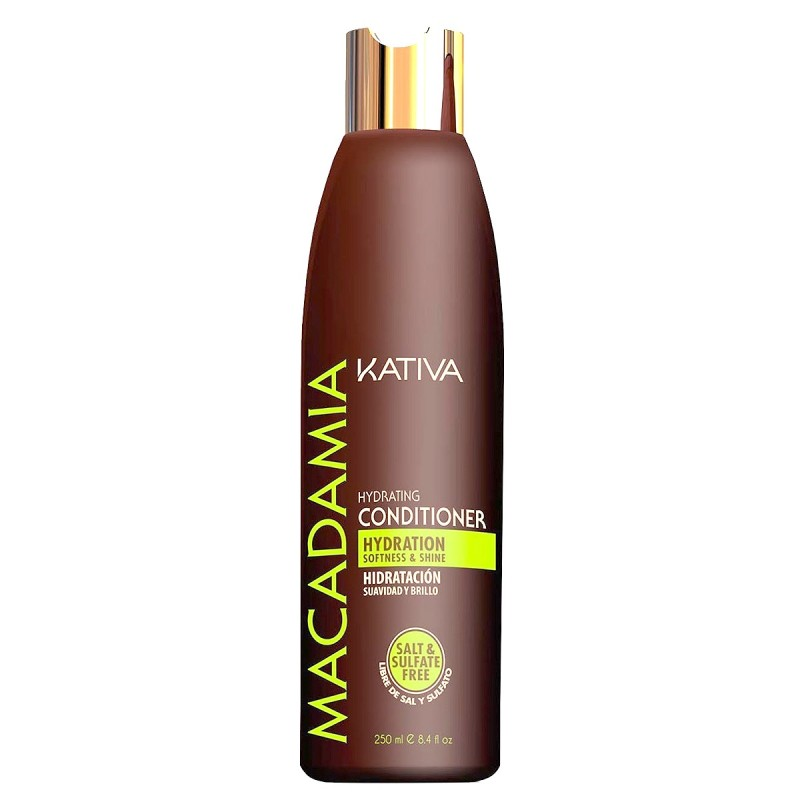 KATIVA Macadamia Hydrating conditioner 500 ml Acondicionador hidratante en crema