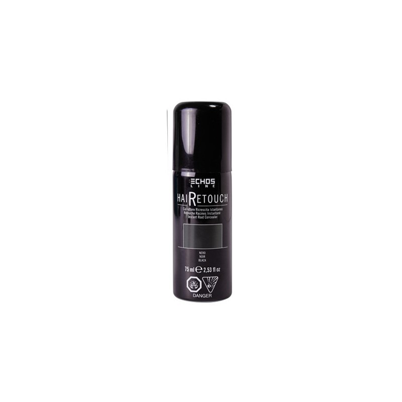 ECHOSLINE HaiRetouch negro 75 ml