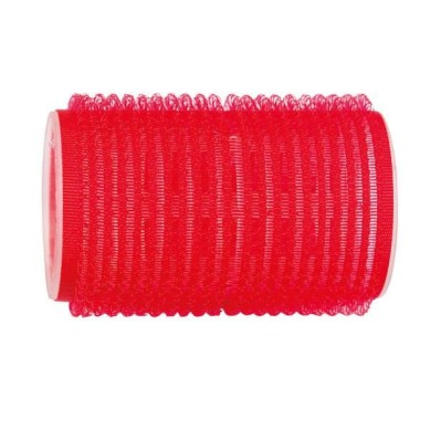 Rulo de velcro 38 mm rojo (12 pcs)
