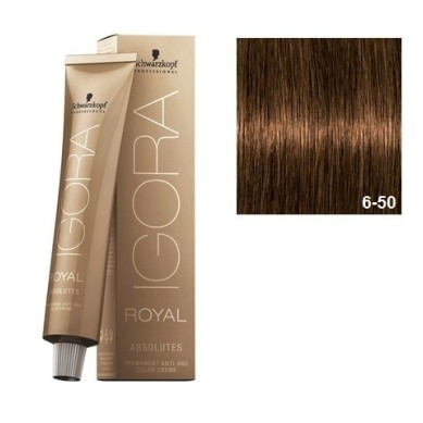 SCHWARZKOPF IGORA ROYAL ABSOLUTES 6-50 RUBIO OSCURO DORADO NATURAL