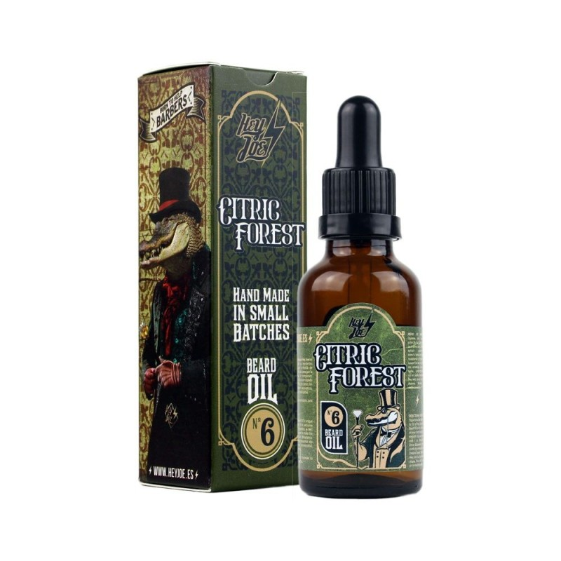 Hey Joe Citric Forest beard oil Nº 6. Aceite para barba y bigote 30 ml