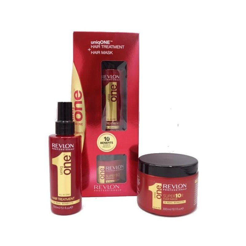 REVLON Pack Uniq One (Treatment 150 ml + Mascarilla 300 ml)
