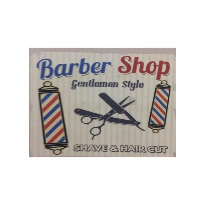 Peinador Barber Shop de corte (120 x 160)