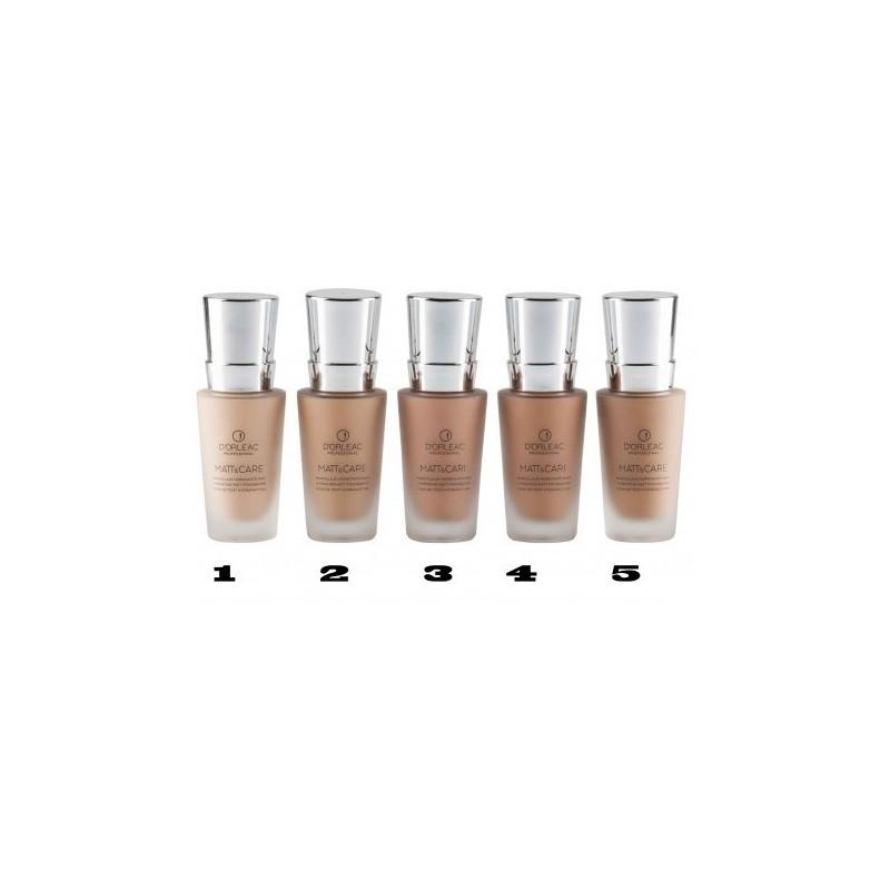 D'ORLEAC Maquillaje de tratamiento fluido nº 4