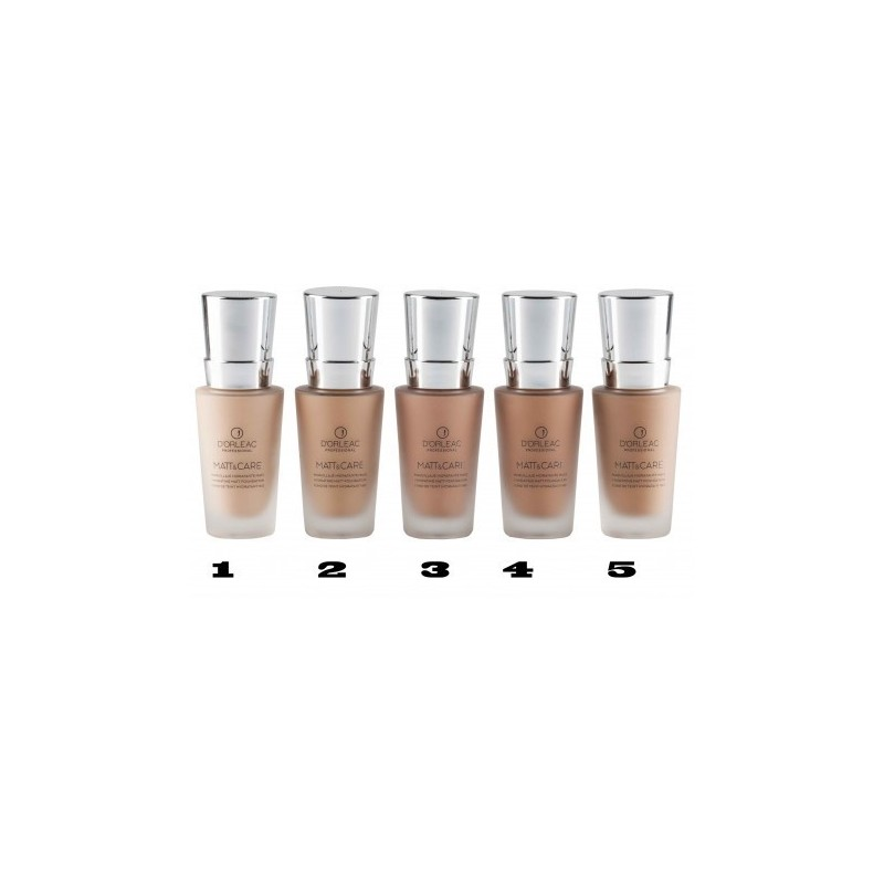 D'ORLEAC Maquillaje de tratamiento fluido nº 5