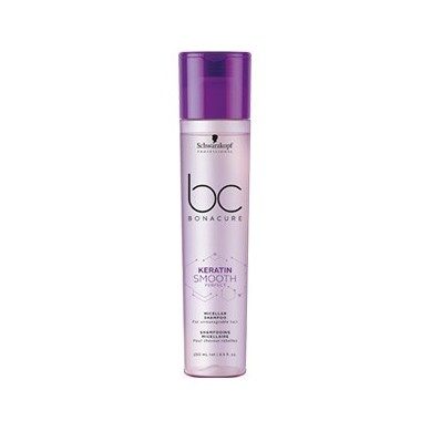 SCHWARZKOPF BONACURE KERATIN SMOOTH PERFECT micelar champú antiencrespado 250 ml