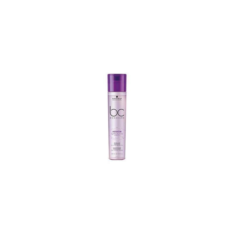 SCHWARZKOPF BONACURE SMOOTH PERFECT  champú antiencrespado 250 ml