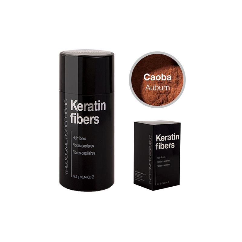 THECOSMETICREPUBLIC KERATIN FIBERS Fibras capilares color caoba 12,5 gr