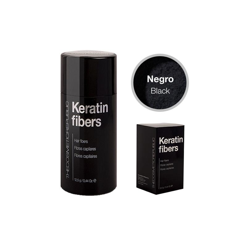 THECOSMETICREPUBLIC KERATIN FIBERS Fibras capilares color negro 12,5 gr