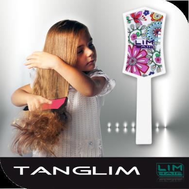 Lim Hair Tanglim Cepillo Desenredante Flores