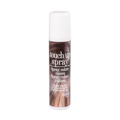 Touch Up Spray cubre raices CASTAÑO CLARO 75 ml