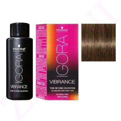 IGORA VIBRANCE BAÑO DE COLOR 6-0 RUBIO OSCURO 60 ml (sin alcohol)