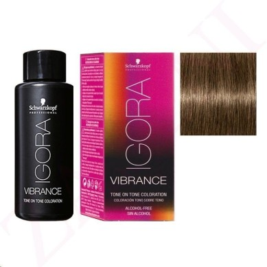 IGORA VIBRANCE BAÑO DE COLOR 7-0 RUBIO MEDIO 60 ml (sin alcohol)
