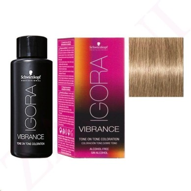 IGORA VIBRANCE BAÑO DE COLOR 8-0 RUBIO CLARO 60 ml (sin alcohol)
