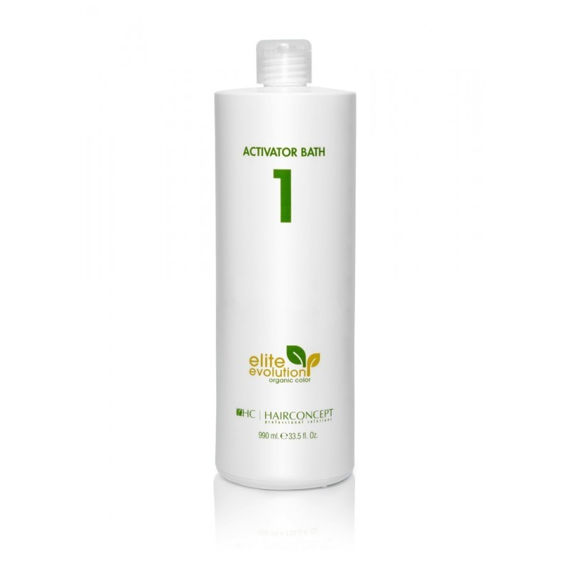 HAIRCONCEPT ELITE EVOLUTION ORGANIC COLOR Nº 1 ACTIVATOR BATH 990 ML