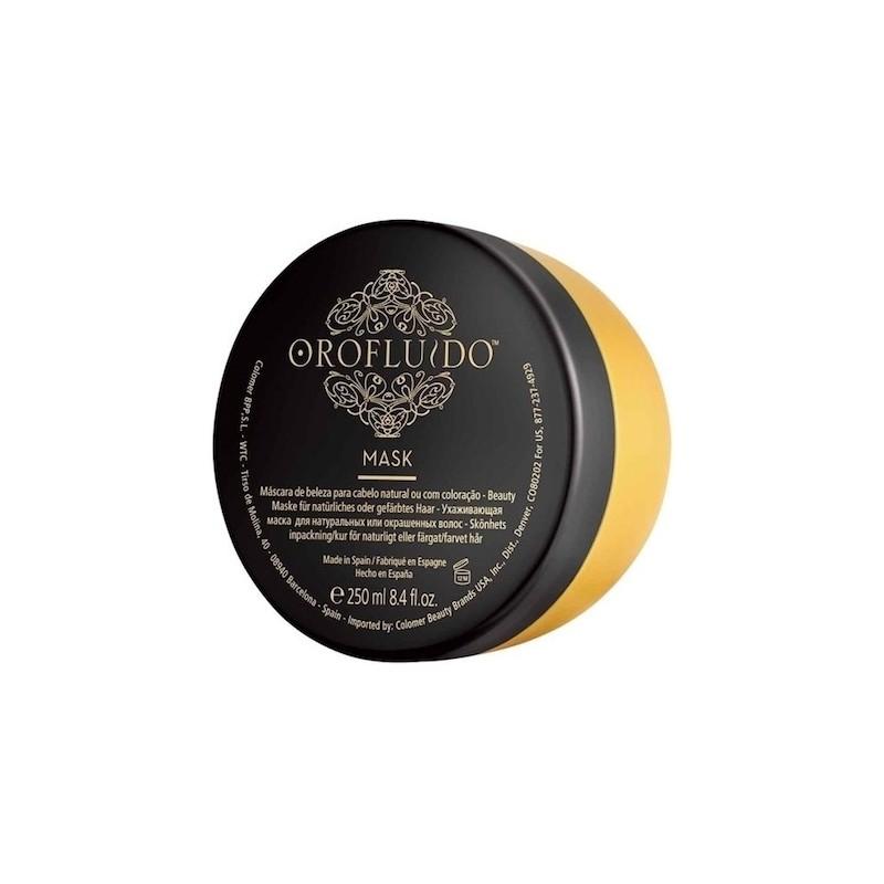 OROFLUIDO MASK Mascarilla de belleza para cabello natural o teñido 250 ml