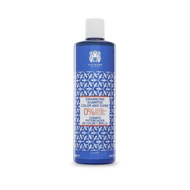 CHAMPU POTENCIADOR DE COLOR Y BRILLO 400 ML - VALQUER