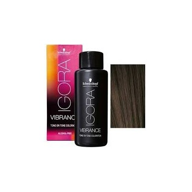 IGORA VIBRANCE BAÑO DE COLOR 7-57 RUBIO MEDIO DORADO COBRIZO 60 ml (sin alcohol)