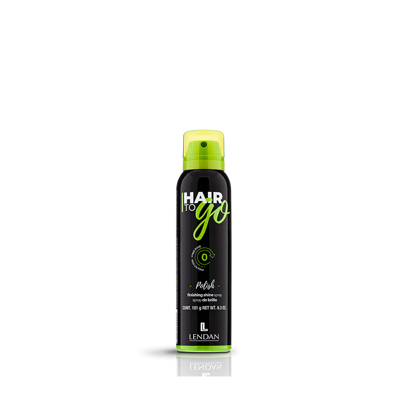 LENDAN HAIR TO GO POLISH Spray de brillo 150 ml