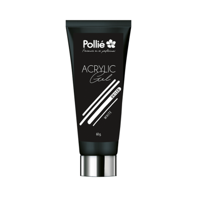 ACRYLIC GEL BLANCO 60G - POLLIE