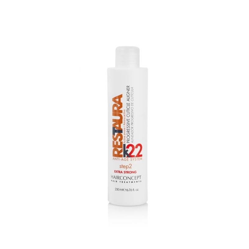 RESTAURA K22 Alineador progresivo de cuticula 200 ml