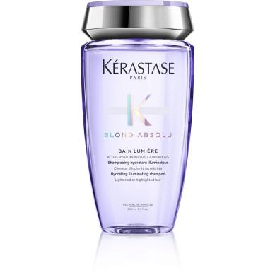 KERASTASE BLOND ABSOLU Bain lumiere Champu hidratante iluminador 250 ml