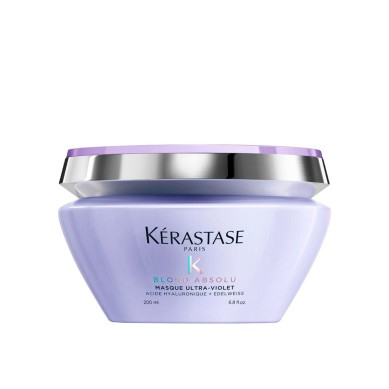 KERASTASE BLOND ABSOLU Masque ultra-violet Mascarilla para neutralizar reflejos amarillos 200 ml