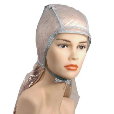 FROSTING Pack 5 gorros de mechas doble capa + ganchillo