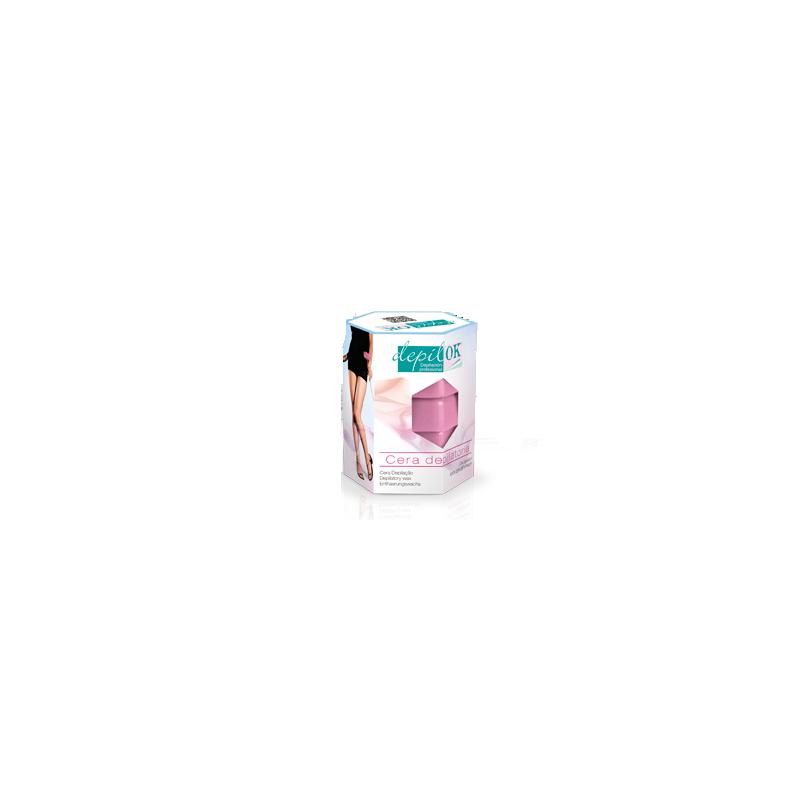 DEPIL OK Estuche cera caliente rosa 300 g