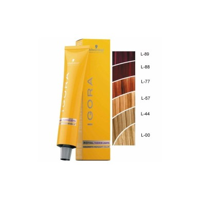 IGORA ROYAL FASHION LIGHTS L-00 RUBIO NATURAL 60 ml