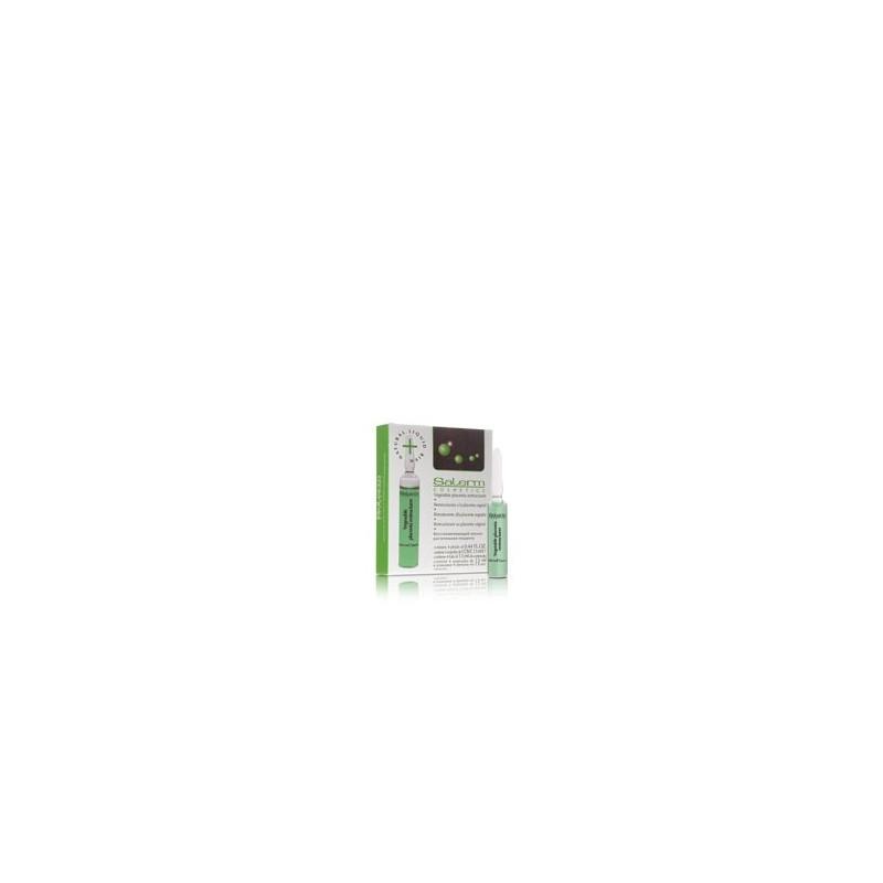 Ampollas reestructurantes de placenta vegetal (4 x 13 ml) SALERM
