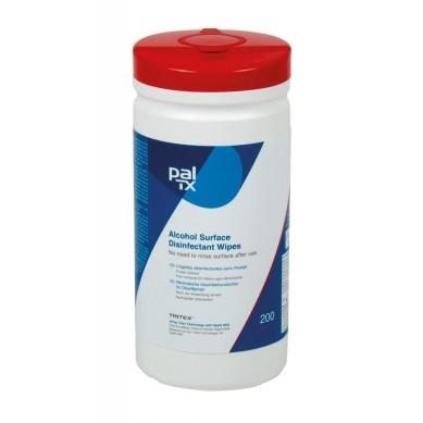 Toallitas desinfectantes especiales coronavirus (bote 200 uds) PAL TX